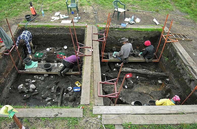 Siedlungsgrabung Bronzezeit