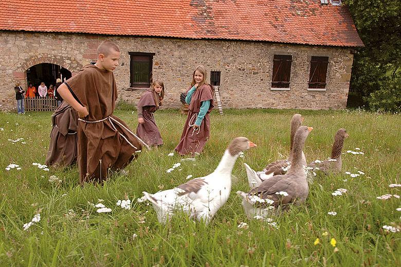 Kleine Mönche