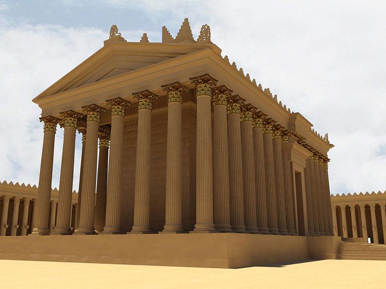 Rekonstruktion Bel-Tempel