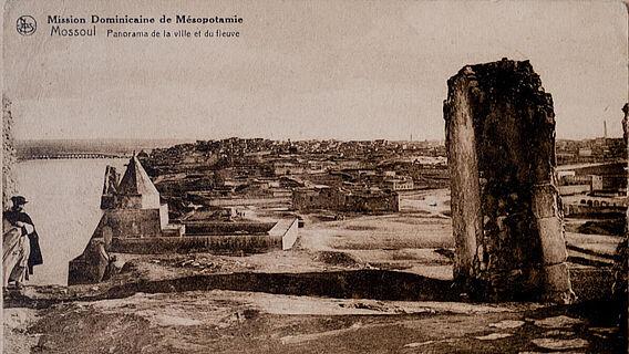 Ansicht von Mossul im frühen 20. Jahrhundert