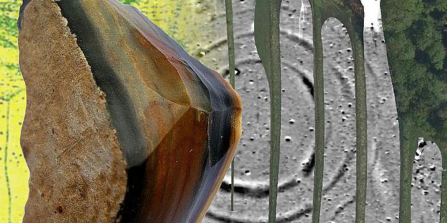 Plattenhornsteine aus Arnhofen in der mittelneolithischen Kreisgrabenanlage von Schiltern