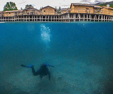 Unterwasserarchäologie im Ohridsee