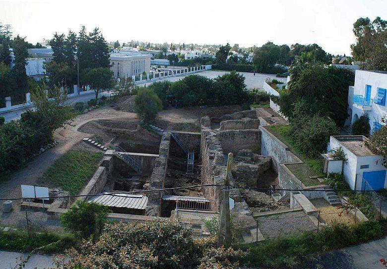 Karthago, Grabungsgelände