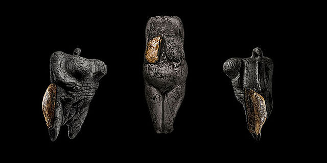 Venusfigur-Fragmente aus Breitenbach (Montage)