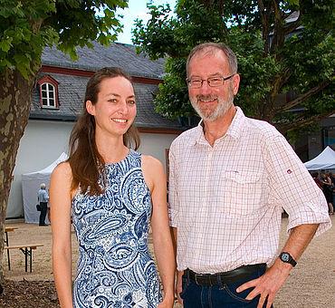 Michaela Schauer und Gerry Wait