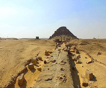 Pyramidenanlage des Sahurê in Abusir