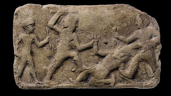 Gilgamesh-Relief
