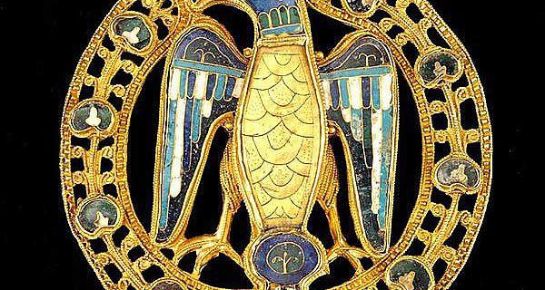 Diese große Adlerfibel ist eines der Objekte, die in der Ausstellung in Mainz zu sehen sein werden (Foto: Landesmuseum Mainz)