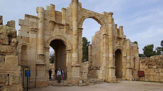 Das Südtor von Jerash/Gerasa in Jordanien