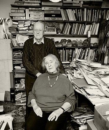 James Mellaart und seine Frau Arlette