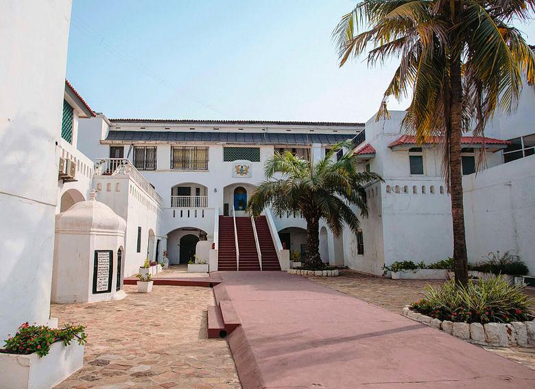 Christiansborg in Ghana
