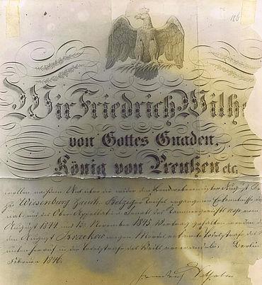 Begnadigung durch Wilhelm IV.