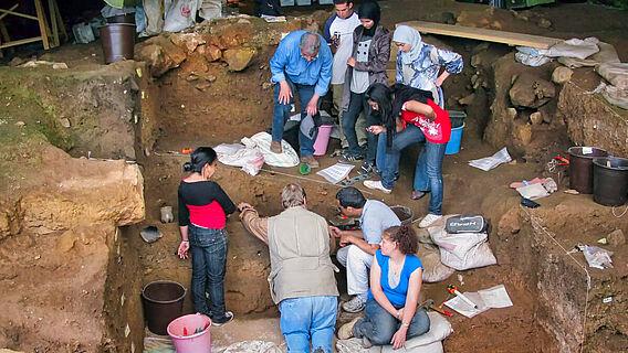Ausgrabung, Marokko