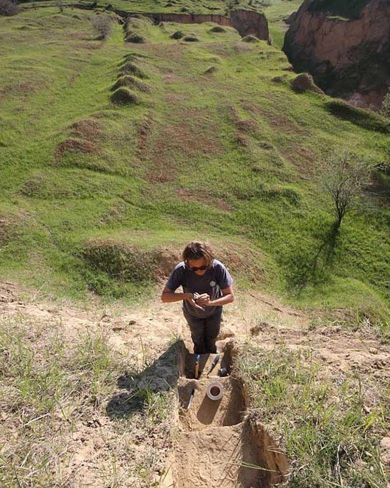 Ausgrabung bei Urluia