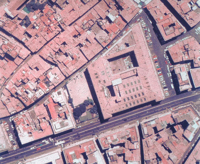 Palazzo della Cancelleria (Luftbild)