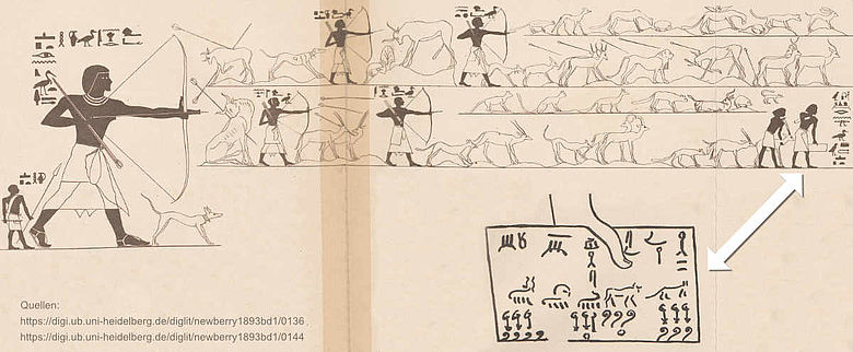 Grab des Khnumhotep