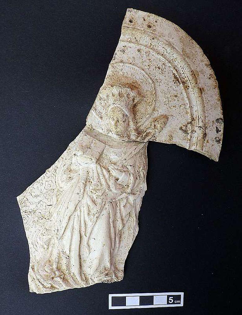 Fragment eines Andachtsbildes