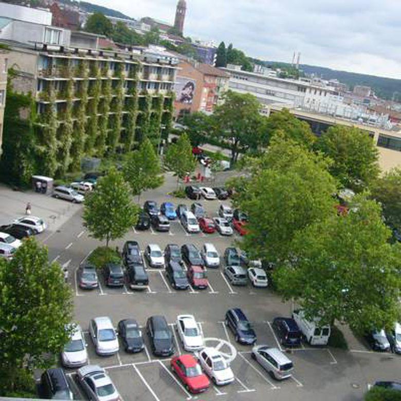 Der Rathausplatz von Pforzheim (Foto: Stadt Pforzheim)