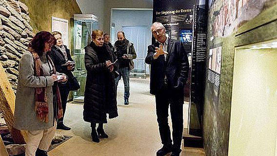 Eröffnung Frühbronzezeit-Ausstellung