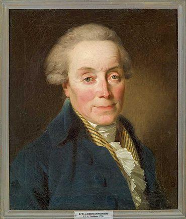 Abb. 3| Porträt des Architekten Friedrich Wilhelm von Erdmannsdorff, Johann Friedrich August Tischbei., 1796 © Gleimhaus Halberstadt, A/120