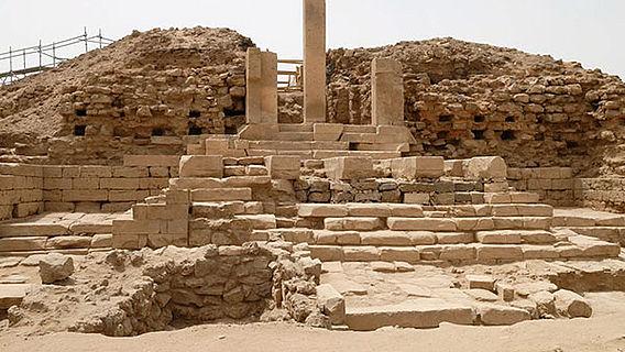 Fünf-Pfeiler-Tempel in Sirwah