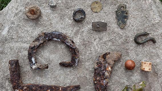 Funde von Burg Landsberg
