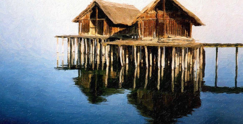 Seeufersiedlungen