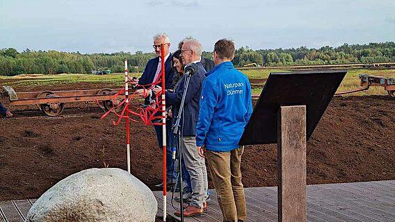 Eröffnung des Infopfades am Bohlenweg Pr VI
