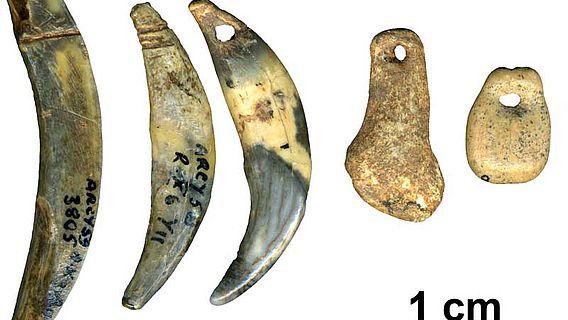 Körperschmuck von Neanderthalern