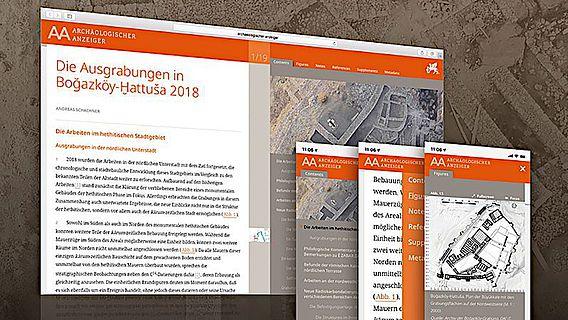 Der traditionsreiche Archäologische Anzeiger ab sofort im DAI-Journal-Viewer