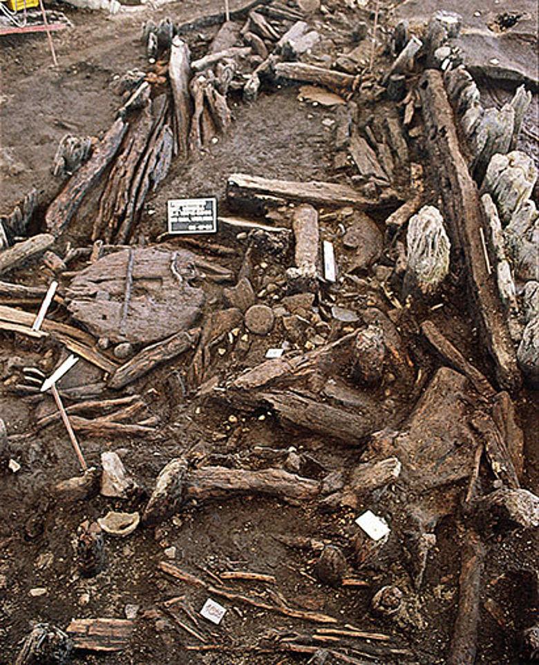 Eisenzeitliche Holzfunde