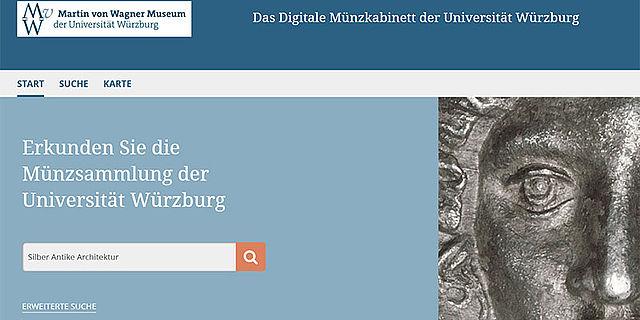 Screenshot NOMISMA Homepage