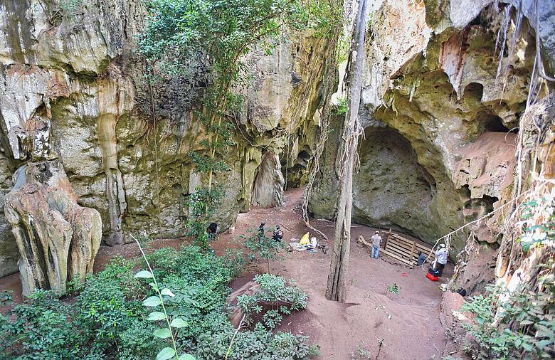 Panga ya Saidi-Höhle