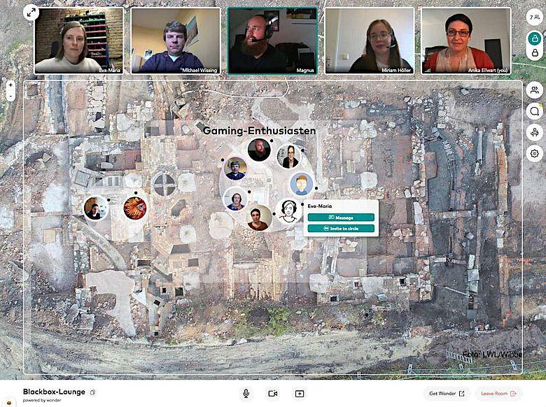 Die Projektmitarbeiter:innen nutzen diverse digitale Plattformen, um auch in Coronzeiten mit dem Bürger:innen-Beirat in regen Austausch zu treten