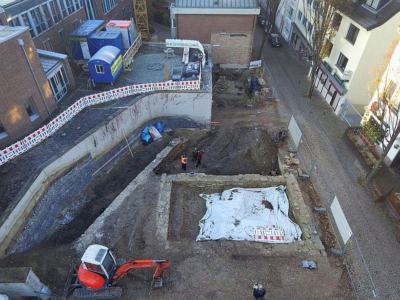 Ausgrabung Domburg Paderborn