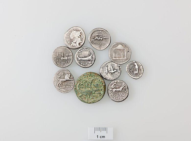 Münzen dienten auch als Massenmedium zur Kommunikation zwischen der römischen Führungselite und der inner- und ausserhalb des italischen Kernlandes lebenden Bevölkerung und den im Einsatz stehenden Legionen