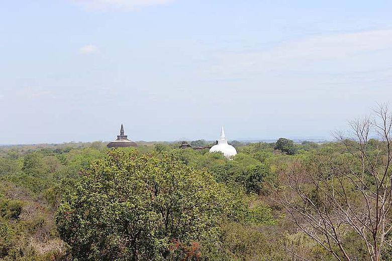 Relikte buddistischer Bauwerke
