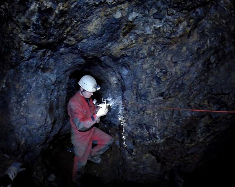 Dokumentation eines Bergwerks untertage