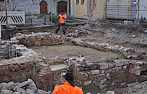 Ausgrabung in Freiburg