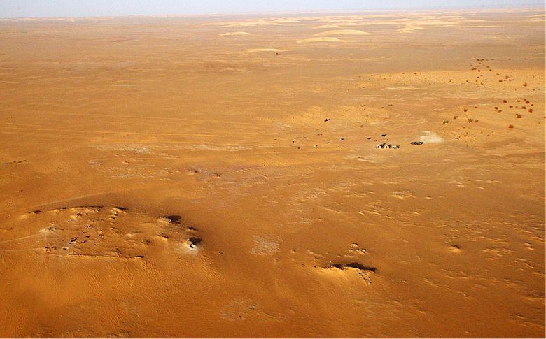 Bestattungsplatz im Niger