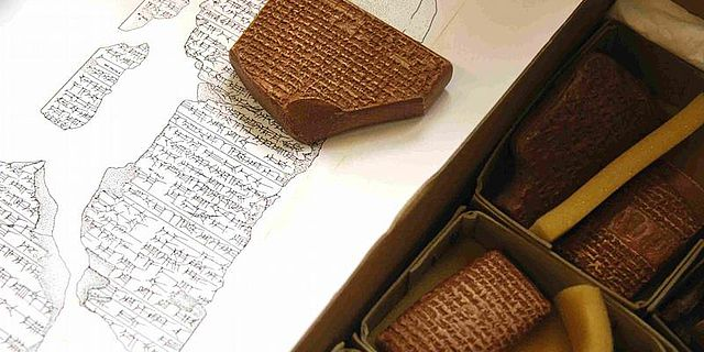 Assyrische Tontafel
