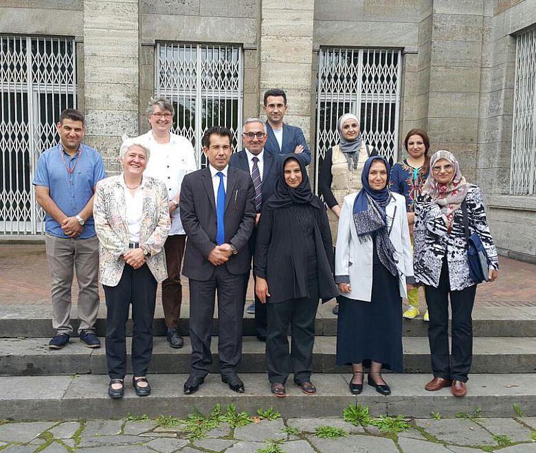 Wissenschaftler der Uni Bagdad