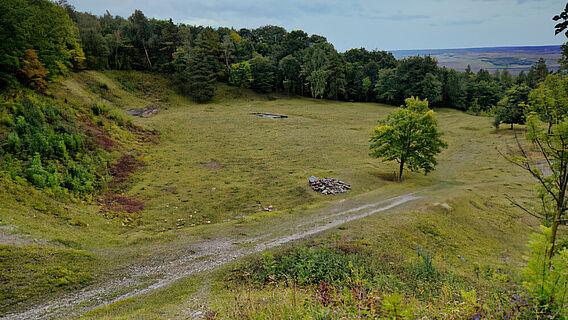 Steinbruch von Buchenwald