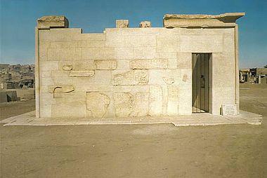 Foto: Tempelhaus in Elephantine