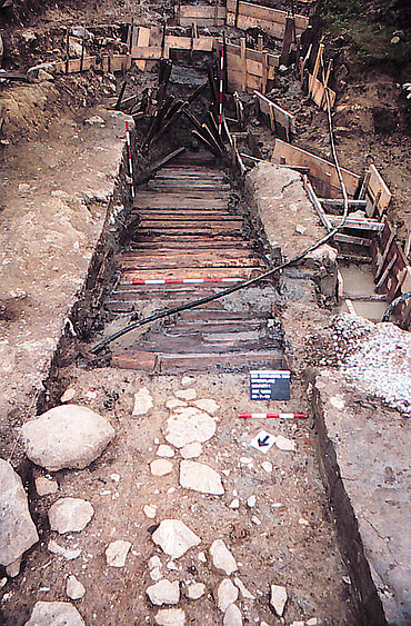 Mittelalterliches Stollenmundloch