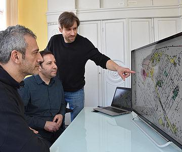 Arbeit am Palmyra-GIS