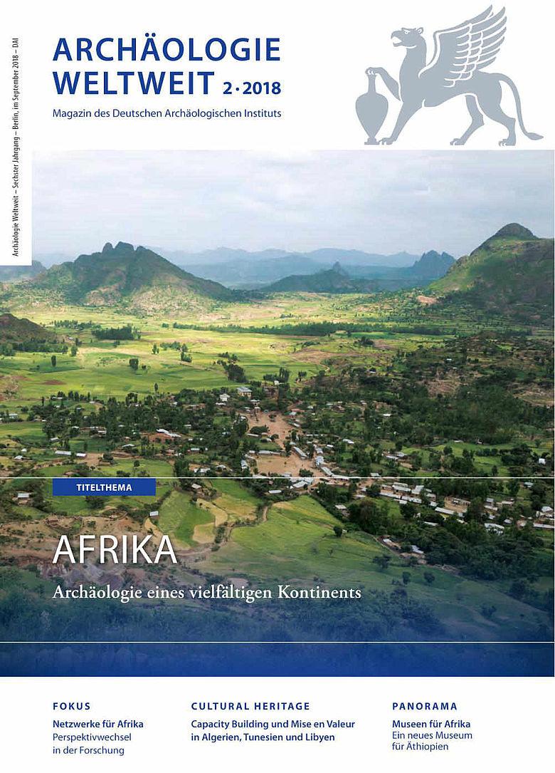 Cover Archäologie Weltweit 2/2018