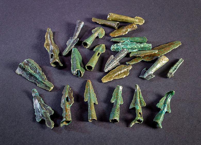Bronzezeitliche Pfeilspitzen