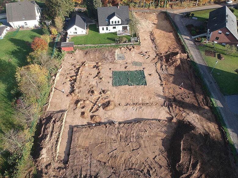 Ausgrabung in Löhne-Gohfeld