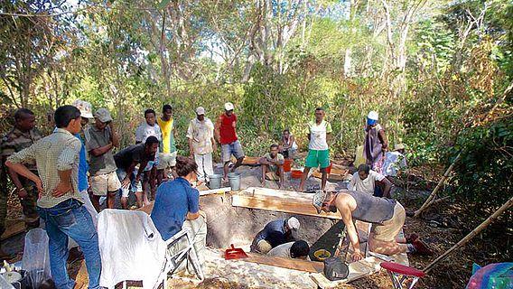 Ausgrabung Madagaskar